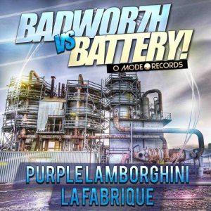 BADWOR7H vs BATTERY - Purple Lamborghini