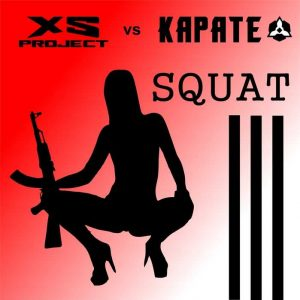 XS PROJECT vs KARATE - Squat